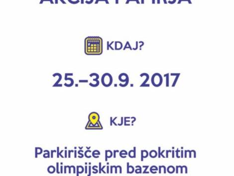 Zbiralna akcija papirja (25.- 30. 9.)