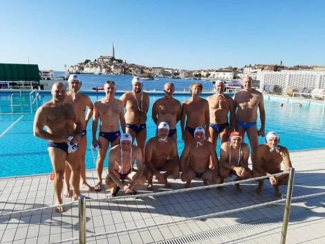 Veterani ŠD Kranj 75 na turnirju ob 70-letnici VK Delfin Rovinj