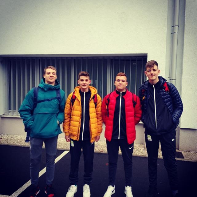 Štirje mladi upi z reprezentaco v Bečej
