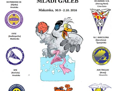 """16. mednarodni turnir """"MLADI GALEB"""""""