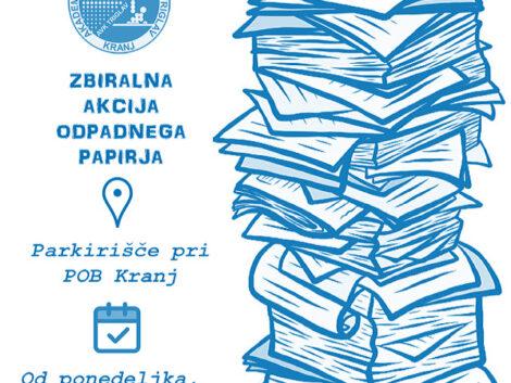 Zbiralna akcija papirja (od 8. 3.)